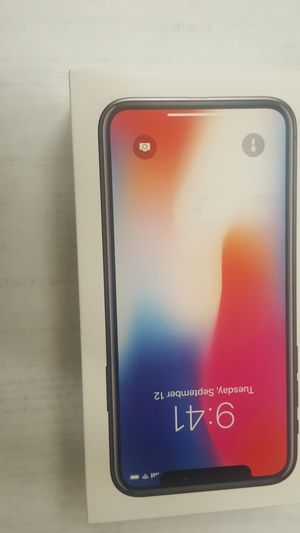 Iphone X- 64 Gb for Sale in Fresno, CA
