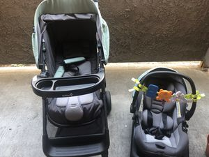 Baby car Seat and stroller (Traveling Set) for Sale in Santa Clara, CA
