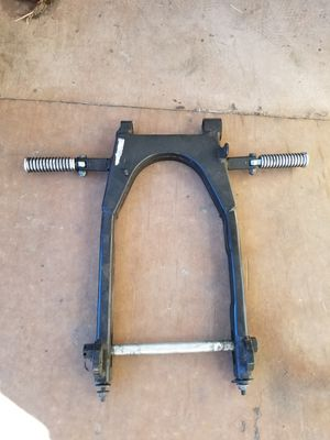 Swing arm w/ passenger pegs and axle for Sale in San Diego, CA