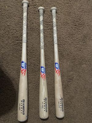 Youth Wooden baseball bats 29' 29' 28' for Sale in Covina, CA