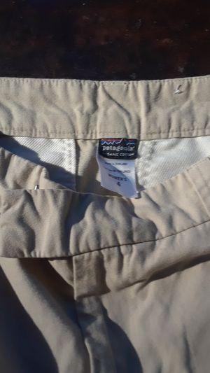 Patagonia khaki shorts sz4 for Sale in Genoa City, WI
