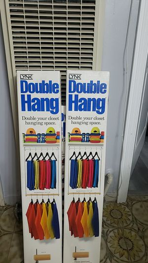 Closet Organizer Doublr Hanger for Sale in Bell, CA