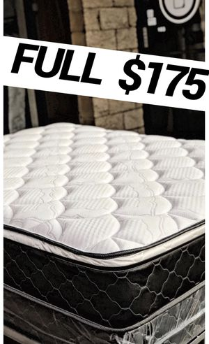 Full size Orthopedic Euro🔝Spring Mattress Made in USA 🇺🇸 for Sale in San Diego, CA