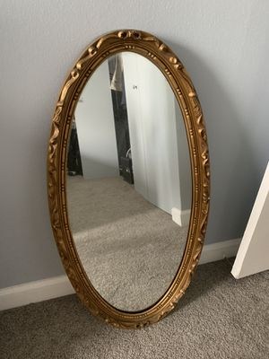 Gold wall mirror for Sale in Chicago, IL