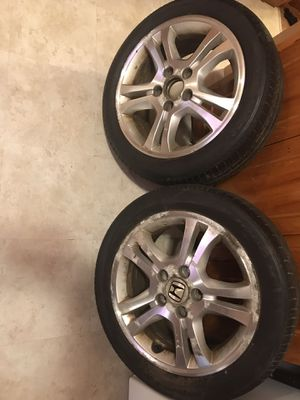 Only (2) rims Honda Accord for Sale in Boston, MA