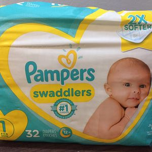 Pampers Swaddlers #1 for Sale in Fort Worth, TX