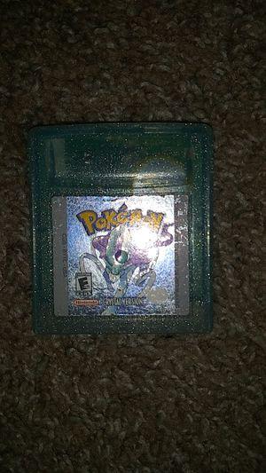 Pokemon Crystal version for Sale in Menifee, CA