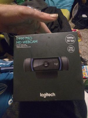 Logitech C920 Pro HD Webcam for Sale in Portland, OR