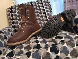 Carolina work boots new 10 1/2 for Sale in Mantua, OH