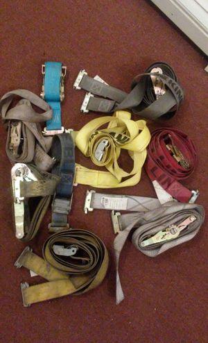 Lot of Rachet Tie Straps for trucks (E-Track) for Sale for sale  Newark, NJ