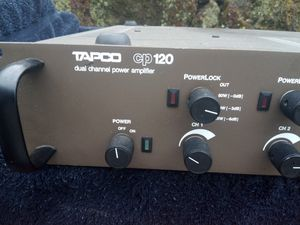 Tapco - CP 120 - 7 dual channel Amplifier for Sale in Portland, OR