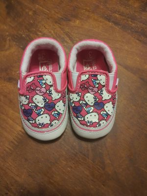 Vans Hello Kitty infant size 3 mint condition.. for Sale in Zephyrhills, FL
