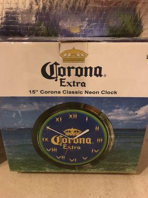 Corona bar clock for Sale in Millersville, MD