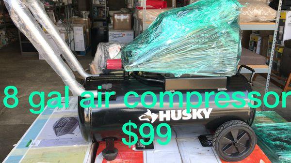 Husky 8 gal Air Compressor