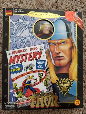 Thor Avengers Assemble Famous Covers Toy Biz Figure for Sale in Renton, WA
