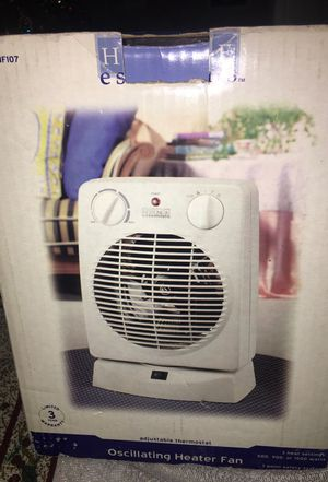 Oscillating Hester Fan with adjustable thermostat for Sale in Los Angeles, CA