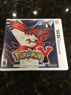 """Pokémon """"Y"""" Nintendo 3DS for Sale in San Antonio, TX"""