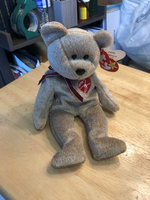 Ty Beanie Babies Signature Bear 1999 for Sale in Plainfield, IL
