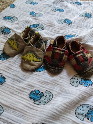 Robeez and Ministar leather baby shoes for Sale in Tumwater, WA