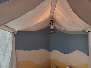 "Custom tent ""headboard"" decoration for Sale in Riverside, CA"