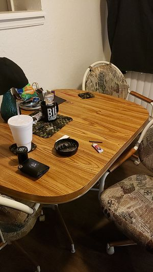 Dining Room table 3 chairs for Sale in Tulsa, OK