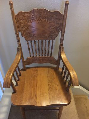 Wooden chair for Sale in Anaheim, CA
