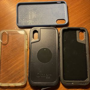3 Otter Box and 1 Speck Protective Cases For iPhone X for Sale in Chevy Chase, MD