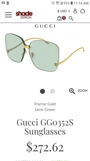 Brand new never worn Gucci glasses with certificate of. Authenticity for Sale in Randallstown, MD