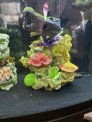 Three pieces of fish tank ornaments. for Sale in Levittown, PA