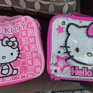 2 Hello Kitty Lunch Bags for Sale in Fontana, CA