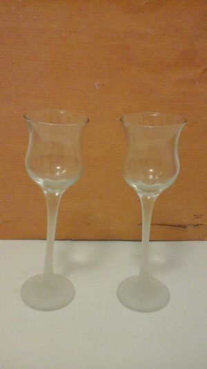 Frosted Glass votive holders for Sale in Clinton Township, MI