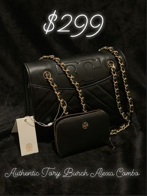 Authentic Tory Burch Alexa Convertible Shoulder Bag Black for Sale in Anaheim, CA