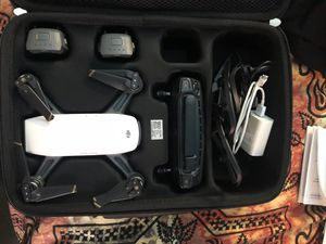 Like New DJI Spark Drone with Huge Bundle!! for Sale in Alexandria, VA