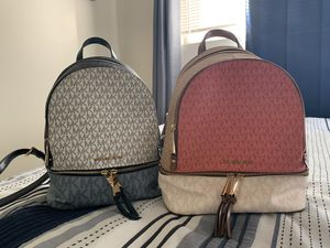 Michael Kors backpack's for Sale in Seal Beach, CA