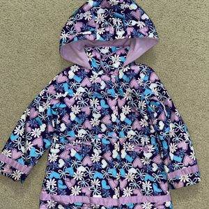 LONDON FOG girls size 6 Lined Raincoat for Sale in Los Angeles, CA