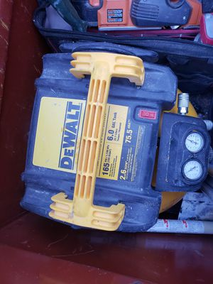 Dewalt 6gall compressor for Sale in Boston, MA