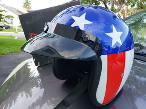 Small Captain America Cruiser Motorcycle Helmet for Sale in Miami, FL