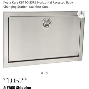 Recessed Baby Changing Station for Sale in West Columbia, SC