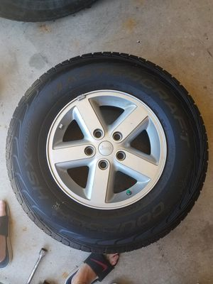 Jeep Wrangler tires and rims for Sale in South Bend, IN