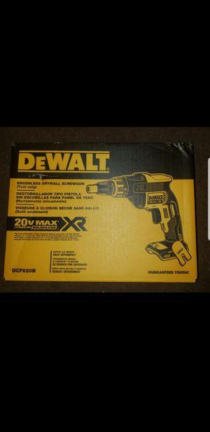 DEWALT DCF620B 20V MAX Li-Ion Brushless Drywall Screwdriver for Sale in Downey, CA