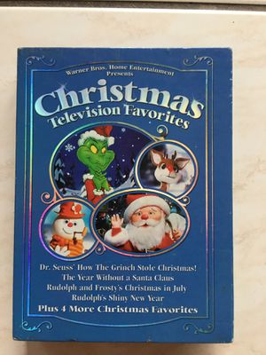 Warner Brothers Home Entertainment, Christmas Television Favorites DVD Collection for Sale in Oakland Park, FL