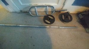 Weight bars +35 lbs weights for Sale in WA, US