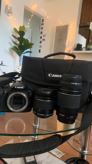 Canon rebel eos t6 for Sale in Los Angeles, CA