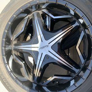 22 Inch Rims/Wheels - Forte for Sale in Litchfield Park, AZ