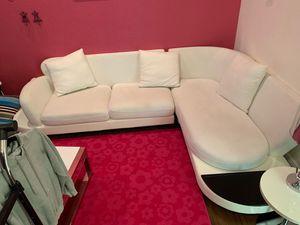 White Corner Sofa for Sale in Miami, FL