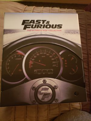 Fast and furious blue ray bundle for Sale in Port Byron, IL