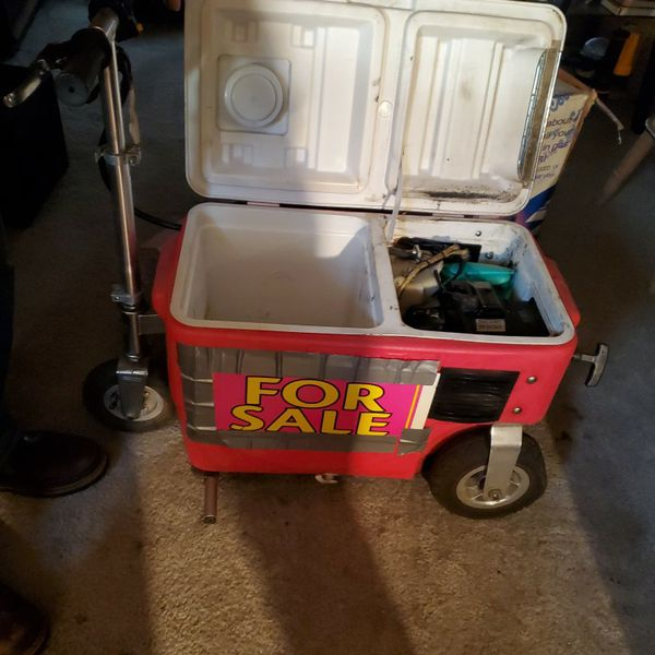 Motorized Gas Powered Cooler