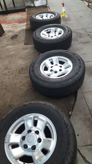 Wheels 265/70/R16 for Sale in Ontario, CA