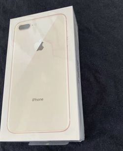 apple iPhone 8 Plus Gold 128GB brand new sealed with 1 YEAR APPLECARE WARRANTY 100% 🔋 BATTERY HEALTH new case and glass screen protector and same da for Sale in Fremont,  CA