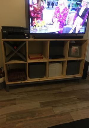 Entertainment dresser with wine holder for Sale in Tampa, FL